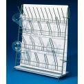 """Bel-Art H18805-0000 Poxygrid Labware Drain Stand, 16-3/4""""L x 6-1/2""""W x 19""""H, 14 Supports & 12 Pins"""