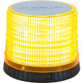 "Acheteurs Amber Portable 72 LED Beacon Light 5,625"" Diameter x 4,625"" Tall - SL480A"
