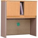 """Bush Furniture 36"""" Hutch - Light Oak - Series A"""