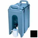 """Cambro 250LCD110 - Camtainer Beverage Carrier, 2-1/2 Gallon, 16-1/2""""D x 9""""W x 18-3/8""""H, Black"""