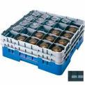 """25S318110 cambro - Camrack verre Rack 25 compartiments Max 3-5/8"""". Hauteur noir NSF, qté par paquet : 5"""