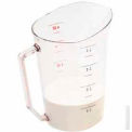 Cambro 400MCCW135 - Camwear Measuring Cup, 4 Quarts, Clear, Polycarbonate, NSF