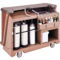 Cambro BAR650DSDX668 - Mid Size w/Pre-Mix System Soda Canisters, Sedona Decor