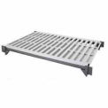 """Camshelving® Elements Shelf Plate Kit, 18""""W x 36""""L, Vented, Brushed Graphite"""
