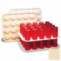 """cambro GK2000133 - verre Keeper, 14 """"x 18"""", détient 20 verres, Regal en plastique, Beige, qté par paquet : 12"""