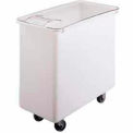 Cambro IB36148-Mobile Ingredient Bin w/Lid, Polyethylene, 34 Gal., White