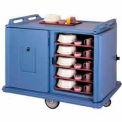 cambro MDC1520S20191 - repas livraison panier demi-hauteur, 2 portes, 55-1/8 x 38 x 43-1/4, granit gris