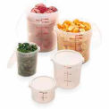 "Cambro RFS2PP190 - Storage Container, Round, 2 Qt., 8-3/16"" Dia. x 4-3/16""H, Translucent, Poly-P - Pkg Qty 12"