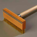 "Carlisle four brosse/raclette, acier au carbone, 42"", Orange/Navy/Red - 4152000"