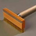 """Carlisle Oven Brush/Scraper, Carbon Steel, 42"""", Orange/Tan - 4152000"""
