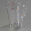Carlisle 4314507 - Polycarbonate Measure Cup, 1 Gallon- Clear - Pkg Qty 6