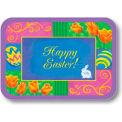 "Dinex DXHS105I001 - Happy Easter Design Traycover W/ Straight Edge, 12-1/2"" x 16-1/2"", (100/pk)"
