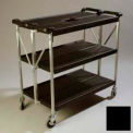 Carlisle® SBC203103 Fold 'N Go® Cart 20x31 - Black