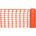 Barrière barrière légère, Orange 4' W X 100' L