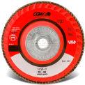 "CGW Abrasives 42962 Abrasive Flap Disc 4-1/2"" x 5/8 - 11"" 40 Grit Ceramic - Pkg Qty 10"