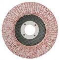 "CGW abrasifs 43184 Rabat abrasifs disque 5 ""x 7/8"" 60 grains aluminium, qté par paquet : 10"