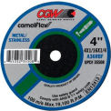 "CGW Abrasives 59102 Depressed Center Wheel 3"" x 1/32"" x 1/4"" 60 Grit Aluminum Oxide - Pkg Qty 50"