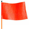 Drapeau d'avertissement sans lumière, travaux légers, orange