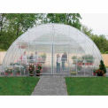 Clear View Greenhouse 30'W x 12'H x 48'L