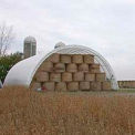 Econoline Storage Building 20'W x 12'H x 30'L White Freestanding