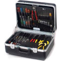 "CH Ellis Chicago Case XLST75, 2 Pocket Pallet Tool Case, 18-1/2""L x 13-1/2""W x 8""H, Black"