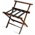 High Back Hardwood Series  Luggage Rack - Mahogany - 3 Pack - Pkg Qty 3