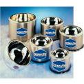 "SCILOGEX DILVAC Stainless Steel Cased Low Profile Dewar Flask SS138SH, 1L Capacity, 6.3"" Diameter"