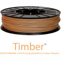 3D Stuffmaker PLA 3D Printer Timber Filament, 1.75mm, 0.60 kg, Brown