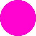 "1/2"" Dia. Fluorescent Pink Discs"