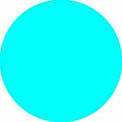"Bleu clair disques 1/2"" dia."