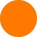 """Fluorescent Orange 3"""" Dia. Discs"""