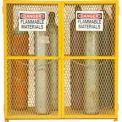 """EGCVC18 armoire stockage Durham Vertical gaz bouteille-50 - détient 18 cylindres jusqu'à 59,75"""" Tall"""