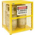 Vertical Gas Cylinder Storage Cabinet EGCVC4-50 - Holds 4 20 Lb or 33.5 Lb LPG Cylinders