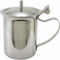 Winco SCT-10 Creamer W/ Cover, 10 Oz., Stainless Steel - Pkg Qty 24