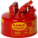 Eagle Type I Safety Can - 1 Gallon - Red, UI-10-S