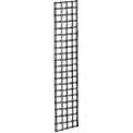 2'W X 8'H - Wire Grid Wall Panel - Semi-Gloss White - Pkg Qty 3