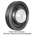 Browning Cast Iron, 2 Groove, QD 358 Sheave, 25V440SH