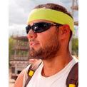 Ergodyne® Chill-Its® 6550 Head Sweatband, Black, One Size - Pkg Qty 24