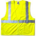 Ergodyne® GloWear® 8225Z classe 2 gilet Standard, chaux, 4XL/5XL