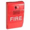 Edwards, signalisation, EG1RF-HD, Genèse Temp Horn, Salut-Lo, rouge, marqué de feu