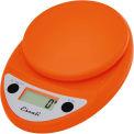 Escali P115PO Primo Digital Kitchen Scale, 11lb x 0.1oz/5000g x 1g, Orange