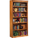 "Martin Furniture Bookcase, 72"" - Wheat - Huntington Oxford Series"