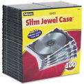 NEATO®  Slim Jewel Cases - 100 pack - Pkg Qty 2