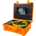 FORBEST FB-PIC4188M Luxury Color Sewer/Drain Camera, 130' Cable W/ Sonde Transmitter