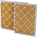 """Filtration, fabrication 0211-12242 plissé filtre Merv 11, W 12"""" x 24 «H x 2"""" P, qté par paquet : 12"""