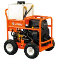 "General Wire JM-3080-A Gas Water Jet Drain/Sewer Cleaning Machine W/250'x3/8"" Hose & 4 Pc Nozzle Set"