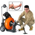 "General Wire P-MX-A Maxi-Rooter Drain Sewer Cleaning Machine W/ 100' x 3/4"" Cable & 8 Pc. Cutter Set"