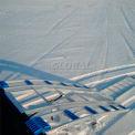 """RevArc SLEDgen2 90""""L Arched Tri-Fold Aluminum Snowmobile Ramp & Ratchet - 1500 Lb. Cap."""