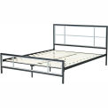 Hanover HBEDLINC-TN Lincoln Square Metal Twin Platform Bed Frame