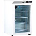 American Biotech Supply Premier Freestanding Undercounter Refrigerator ABT-HC-UCFS-0204G, 2.5 Cu.Ft.